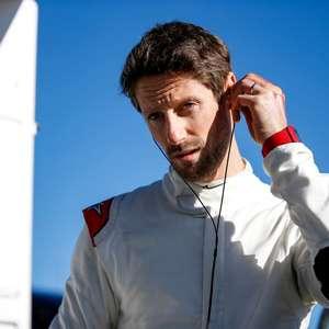 "Com medo de Grosjean ""andar e se matar"", Haas desistiu ..."