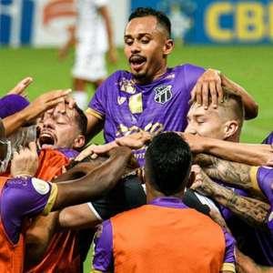 Saulo Mineiro vibra com vitória do Ceará