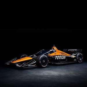 McLaren apresenta layouts diferentes para O'Ward e ...