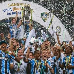 Confira o desempenho do Grêmio nos jogos de ida em finais de Copa do Brasil