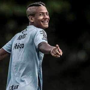 Santos promove mais cinco da base para a estreia no Paulista