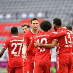 Bayern espanta má fase, goleia Colônia e segue na ponta