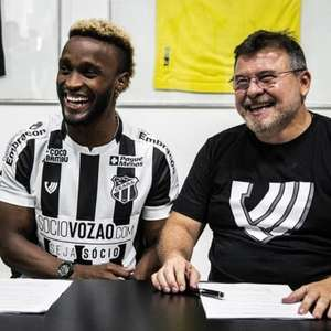 Ele voltou! Ceará torna oficial a chegada de Stiven Mendoza