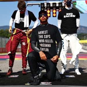 """Hamilton diz seguir na luta contra racismo """"enquanto viver"""""""