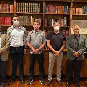 Bolsonaro se reúne com Guedes, Lira e Pacheco fora da agenda