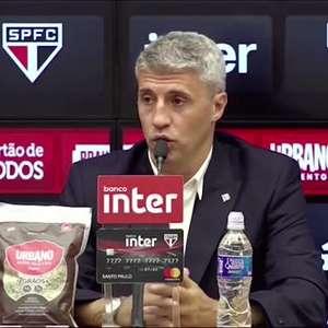 """SÃO PAULO: Crespo analisa empate e explica escalação com três zagueiros: """"vamos nos adaptar a necessidade da partida"""""""