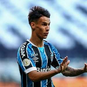 Ferreira é a boa notícia do Grêmio na derrota para o Palmeiras no primeiro jogo da decisão da Copa do Brasil