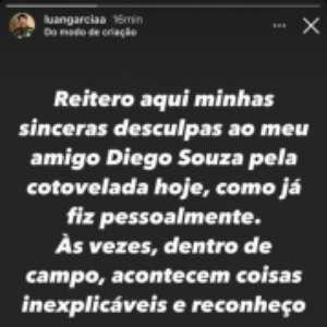 Luan pede desculpas à torcida do Palmeiras por expulsão