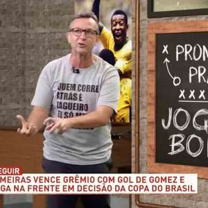 "Neto ataca Abel e diz: ""Palmeiras deixou de ganhar o título"""