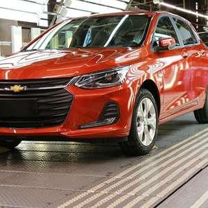 GM suspende produção do Chevrolet Onix por falta de peças