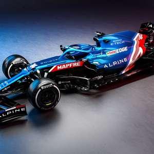 Alpine revela novo A521 com as cores da bandeira francesa