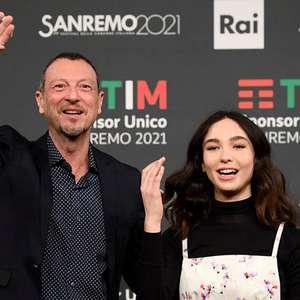 Sanremo começa sem público e com brasileira na disputa