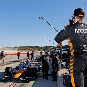 O'Ward põe McLaren na frente em dia de testes em Laguna ...