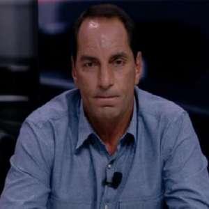 Fox Sports brinca com queda de papel do Vasco em sorteio, e Edmundo reage: 'Vai à m...'
