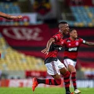 Max se emociona com estreia e gol pelo Flamengo: 'Foi a ...