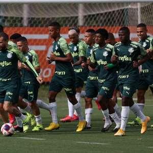 Ignorando Dérbi, Palmeiras treina visando final da Copa ...