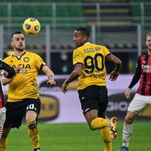 Milan tropeça, empata com a Udinese e se complica na ...