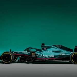 Nova equipe de Vettel, Aston Martin lança carro para 2021