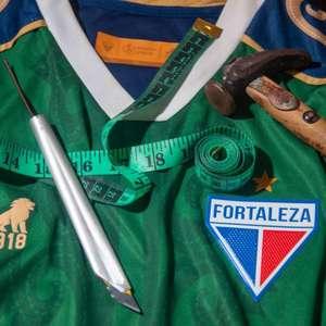 Com desenho de mestre da cultura cearense, Fortaleza lança novo uniforme para Copa do Nordeste