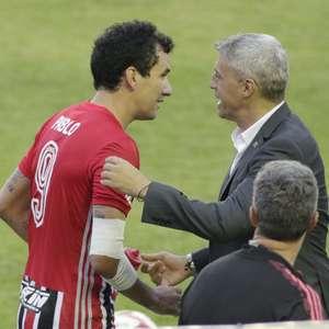 """Pablo ganha destaque e Crespo elogia: """"Atitude é importante"""""""