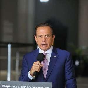 """""""Tristeza e vergonha"""", diz Doria sobre falas de Bolsonaro"""