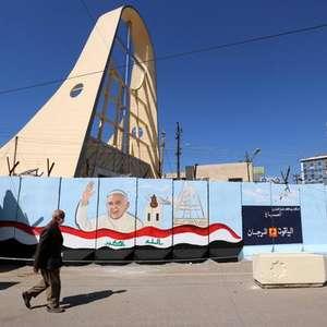 Ataque atinge base no Iraque 2 dias antes de viagem do Papa