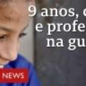 O menino cego de 9 anos que dá aula em escola destruída pela guerra no Iêmen