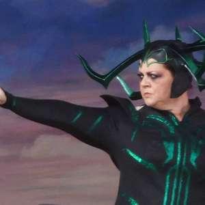 Fotos revelam Melissa McCarthy como Hela no filme de Thor