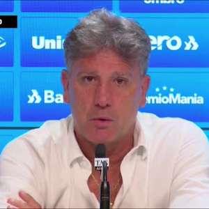 """GRÊMIO: Renato Gaúcho revela que recebeu """"duas ou três propostas"""" e reforça sobre sua decisão: """"nesse momento o mais importante é a Copa do Brasil"""""""