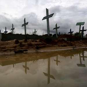 Brasil registra 2º maior nº diário de mortes da pandemia