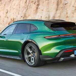 Porsche revela Taycan Cross Turismo, uma perua elétrica