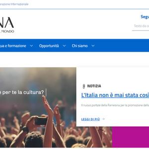 Governo lança portal para promover cultura italiana no mundo