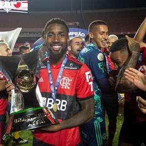 Flamengo abre conversas pela renovação do meia Gerson