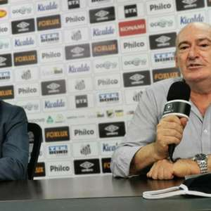 Rueda revela valor de multa de Holan no Santos e lamenta pagar sete técnicos