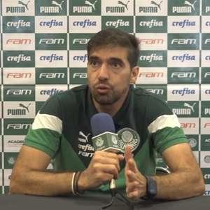 Abel Ferreira lamenta interferência da chuva em ...