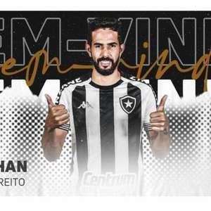 Botafogo anuncia a contratação de Jonathan, lateral- ...