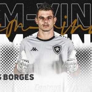 Botafogo anuncia contratação do goleiro Douglas Borges