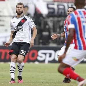Vasco desiste de renovar com Marcelo Alves