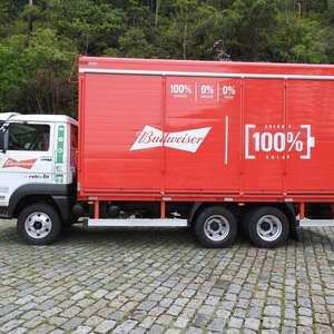Ambev vai converter 102 caminhões a diesel em elétricos