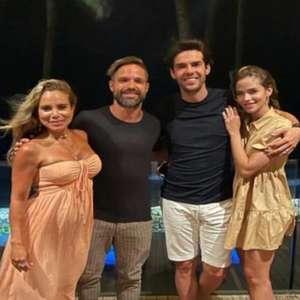Diego e Kaká se encontram no Ceará e provocam Filipe Luís; lateral do Flamengo responde: 'Inveja'