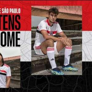 São Paulo anuncia novos uniformes para a temporada de 2021