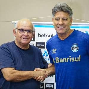 Grêmio anuncia renovação do contrato de Renato Gaúcho