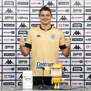 Douglas Borges é apresentado pelo Botafogo: 'Vou dar a ...