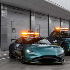 Aston Martin revela safety-car e carro médico da F1 2021 ...