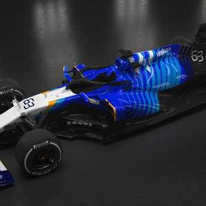 Williams apresenta FW43B e quer voltar a pontuar em 2021