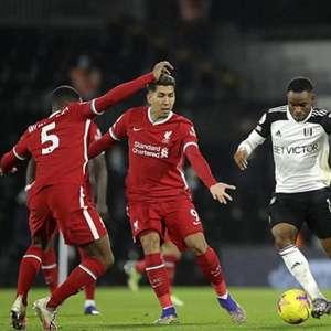 Liverpool x Fulham: onde assistir e prováveis escalações