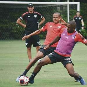 Mantendo nova rotina, São Paulo treina no CT em dia de ...