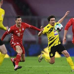 Com três de Lewandowski, Bayern vira pra cima do ...