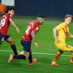 Barcelona vence Osasuna fora de casa e aumenta esperança ...