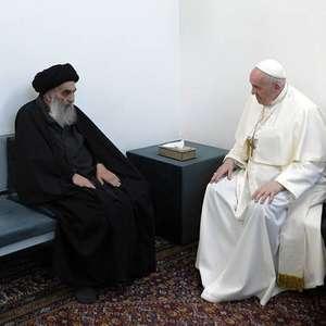 Papa Francisco tem encontro histórico com líder xiita no ...